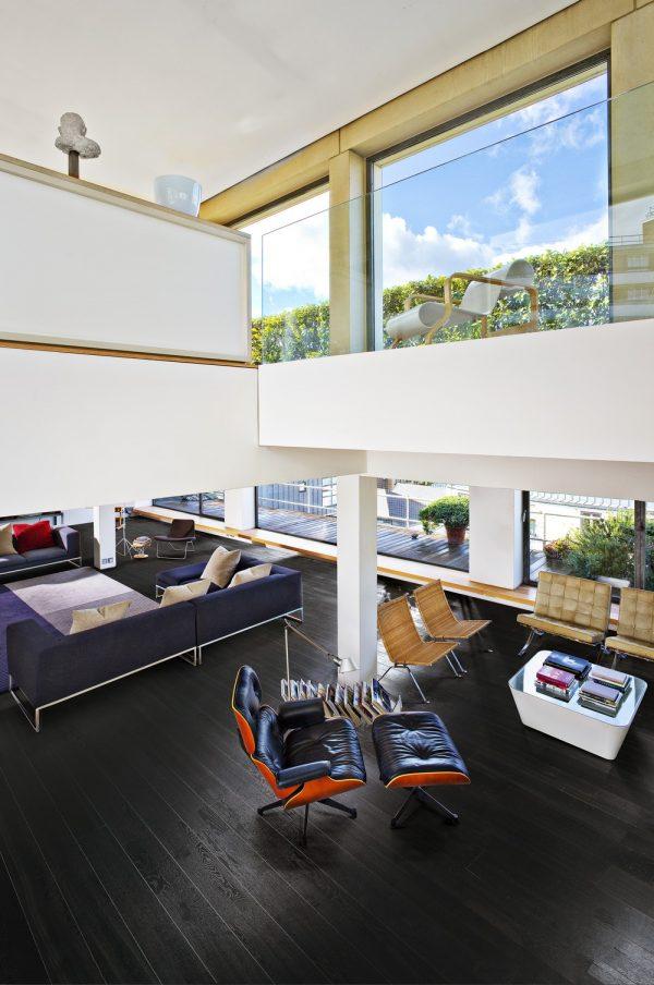 Kahrs Nouveau Charcoal engineered timber flooring
