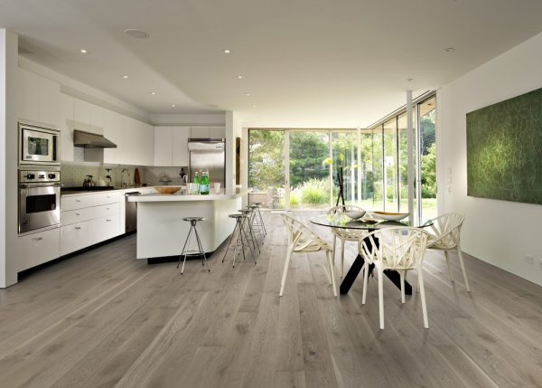 kahrs Nouveau Gray engineered timber flooring