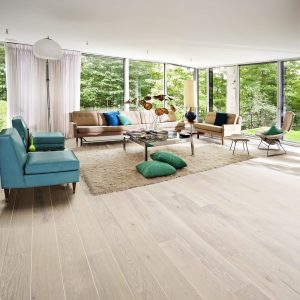 Kahrs Nouveau Snow engineered timber flooring